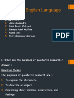 Research Power Point Qualitative