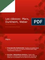 Sociólogos clásicos