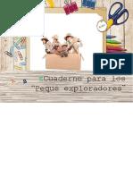 Cuaderno Peque Exploradores
