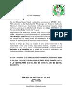 Carta de Recomendacion de Caal Requena