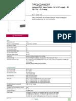 Twido - Programmable Controller_TWDLCDA16DRF