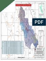 Mapa Politico de la Prov. de Acomayo