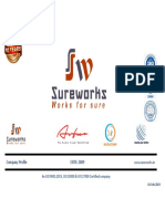 Sureworks Infotech - Company Profile Feb 2019