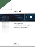 Analog Video Distribution Amplifier