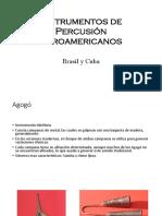 Instrumentos de Percusión Afroamericanos (F)