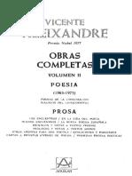 Obras Completas 2 - Poesia Y Prosa(1965 - 1973)