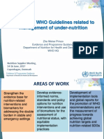1030 WHO Guidelines Update