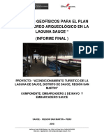 Inform Final Estudio Geofisico en La Laguna Sauce 2018
