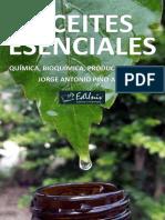 Aceites Esenciales_ Quimica, Bi - Pino Alea, Jorge Antonio