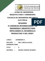 Facultad de Ingenieria- Caratula