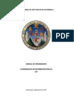 Manual Organizacional Usac