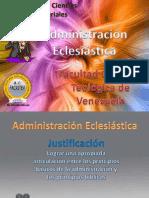 administración eclesiástica