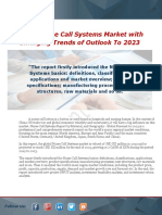 Global Nurse Call Systems Market With Emerging Trends of Outlook to 2023