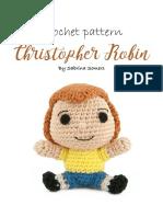 Crochet Pattern Christopher Robin