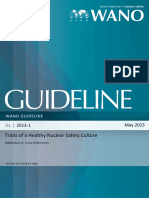 WANO Guidelines Traits of a Healthy Nuclear Safety Culture Addendum GL 2013-01-1