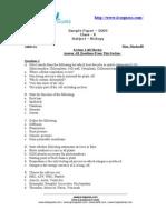 ICSE Sample Paper Class x Biology 2006 05