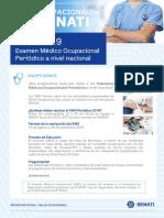 Examen Médico Ocupacional Periódico 2019