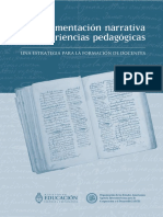Ministerio de Educación - La Documentación Narrativa de Experiencias Pedagógicas - Cap 4