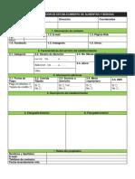 Ficha de Información de Establecimiento de Alimentos y Bebidas Danilo Pl