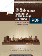 Two Days Specialized Training Workshop on Islamic Banking and Finance -Russia
