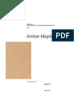 Wood Grains - Amber Maple