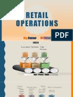 Operations Retail Big Bazaar