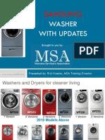 MSA Samsung Washer