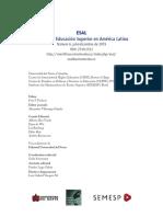 Revista de Educación Superior en América Latina N°6 julio-diciembre 2019