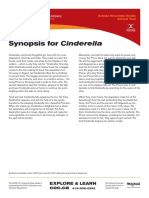 Cinderella School Tour Study Guide Synopsis Final