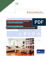 Dekorazioa,_zerrenda