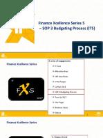 FXS 5 - SOP3 Budgeting Process (ITS)