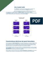 3.6 Caracteristicas Electricas de Las Celdas Solares