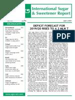 09July19 F.O.licht International Sugar Sweetener Report