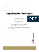 Topic 6 - Cashflow Estimation