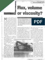 Flux Volume Viscosity