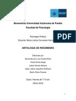 Antología de Psicología Política