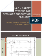 API 14 C – Safety Systems for Offshore