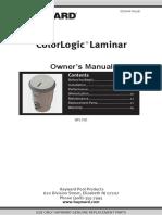 ColorLogic-LaminarOwnersManual