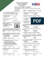 math 7 diagnostic