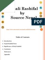 Nepali Rashifals