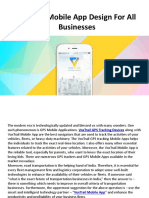 VoxTrail Mobile App Design for All Businesses