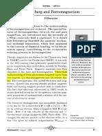 Heisenberg Model and Ferromagnetism
