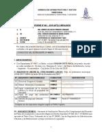 Informe Nº 0112zonificacion y Vias
