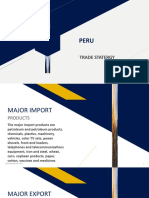 Peru Export Import Data
