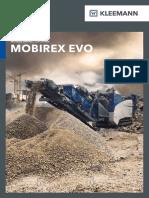 Brochure Kleemann MOBIREX En
