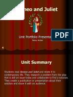 Romeo Unit Portfolio Presentation