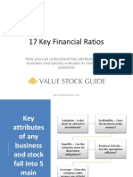 Key Financial Ratios You Need To Know