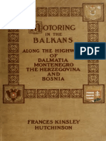 Motoring in the Balkans by Hutchinson, Frances Kinsley