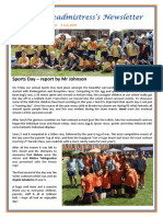 Newsletter No 80 - 5th July 2019
