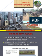 settlement geography